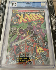 X-MEN #98 CGC 8.0 White Pages!