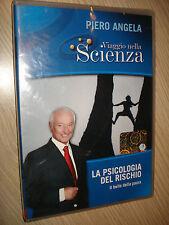 DVD N° 30 VIAGGIO NELLA SCIENZA PIERO ANGELA LA PSICOLOGIA DEL RISCHIO PAURA