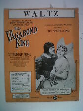 piano RUDOLF FRIML the vagabond king, waltz