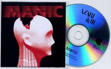 AZARI & III Manic 2011 UK 5-mix promo test CD DJ Sneak Finger Prince
