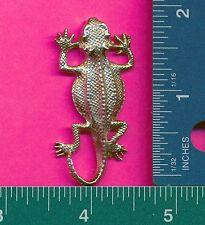 lead free pewter lizard figurine D4092