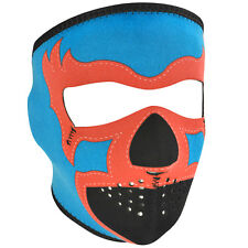 Zan Headgear Neoprene Full-Face Mask, Lucha Libre in Blue