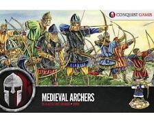 Conquest Games: Bogenschützen Mittelalterliche - [28 Feigen] 28mm