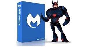 Malwarebytes anti-malware PREMIUM 1 Year/3 devices PC MAC ANDROID SEALED *NEW*