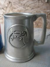 Pewtarex Stein/Beer Mug, Colonial York in PA. Hand Finished Metalware,Used??
