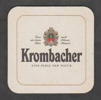 Bierdeckel - Coaster, KROMBACHER ,  Kreuztal - Krombach / NRW #4#