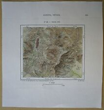 1892 Perron map VIRGINIA CITY, NEVADA (#165)