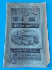 VINTAGE ILLUSTRATED CATALOGUE OF THE BUFFALO FORGES BLOWERS & EXHAUSTERS