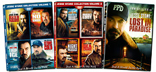 Jesse Stone Complete Tom Selleck Movie Series 1-9 Lost in Paradise Box/DVD Sets