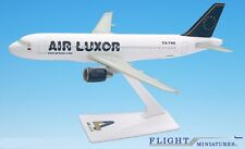 Air Luxor A320-200 Airplane Miniature Model Plastic Snap-Fit 1:200 Part# AAB-320