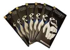 Precept Grip All Weather Golf Gloves x 7 - White - Grh Small - New!