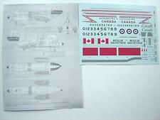 "CH-113 LABRADOR ""RCAF RESCUE"" MINICRAFT DECALS 1/48"