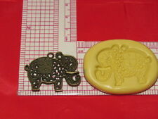 Indian Elephant Silicone Push Mold 256 For Resin Clay Candy Chocolate Gumpaste