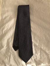 Armani Black Geometric Silk Tie