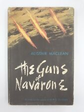1956 Vtg Guns of Navarone Alistair MacLean First Edition 1st Printing WWII Film