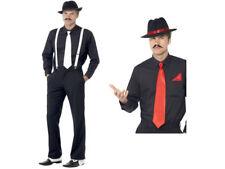 Gangster Instant Kit 20s Mafia Adult Mens Smiffys Fancy Dress Costume Accessory