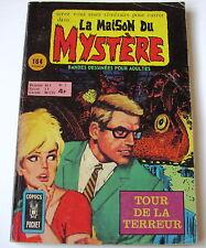 LA MAISON MYSTERE . N°  2 . ARTIMA . COMICS POCKET . 1976