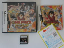 ONE PIECE GEAR SPIRIT - NINTENDO DS - JEU DS COMPLET - RARE IMPORT JAPON