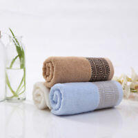 Jacquard Soft Cotton Face Towel for Adults Thick Super Absorbent Towel 33x74cm