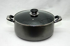 28cm Non Stick Coated Non Stick Aluminum Cookware Casserole Glass Lid 15141