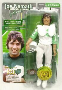 """Joe Namath 8"""" Action Figure Mego Legends New York NY Jets QB Football Ltd A-11"""