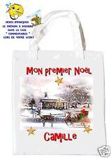 sac shopping noël sac à commissions sac à cadeaux joyeux noel réf 201