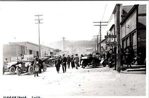 NEDERLAND COLORADO MAIN STREET VINTAGE REPRINT OF OLD REAL PHOTO POSTCARD