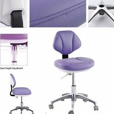 Microfiber Leather Medical Dental Stool Doctor's Assistant Stools Mobile Chair