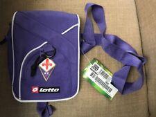 Lotto Fiorentina Italy Violet Purple Mini Postman Sports Bag w/ Tag