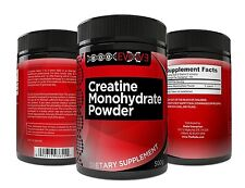 Pure Creatine Monohydrate Powder Performance Supplement Supports Athletes NEW