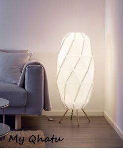 IKEA SJOPENNA Floor Lamp Modern White New