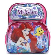 "Disney Little Mermaid Ariel School Backpack 12"" Medium Bag- Sea Shore"