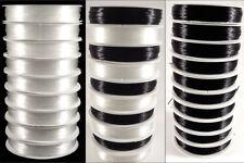 Lote De 10 Bobinas Hilo Nailon Elástico 0,5mm – 10x 20 Metros Colores a Elegir