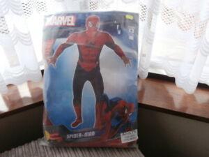 Spider-Man Mens Fancy Dress Marvel Comic Superhero Adults Avengers Costume
