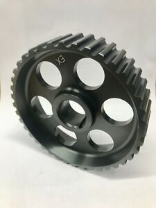 """Lotus """"green dot"""" HTD camshaft / auxiliary, pulley / sprocket 104 degree Esprit"""