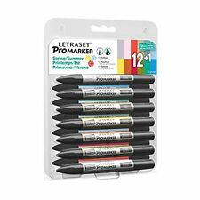 Letraset ProMarker Spring/Summer 2014 Limited Edition Set - Free Delivery