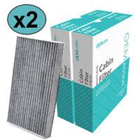 2x Pollen Cabin Filter B7891-1FE0A For Nissan Cube Juke Leaf Sentra Pulasr 13-17