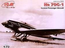 ICM 1:72 72233: Heinkel  He-70G-1