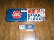 VINTAGE AC ACNITER SPARK PLUGS  CASE 8 R44NS #5613339 NEW DODGE 77 360 318 340+