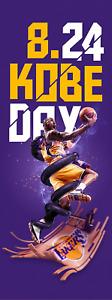 Kobe Bryant NBA Gigantic HD Photo Art Fabric Print Wall Decor Poster Multi Sizes