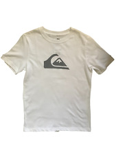 $18 Quiksilver Boy's NWT Youth Tee Front Print Surf Skate Casual Summer Size L
