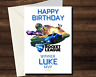 Personalised ROCKET LEAGUE Birthday Card - Winner MVP Game Gamer PS4 xbox