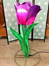 Stunning Vintage 1 of a kind Tulip Flower Floor Lamp