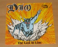 "DIO: The last in line 7"" Single rare Dutch Pinkpop Edition Black Sabbath Rainbow"