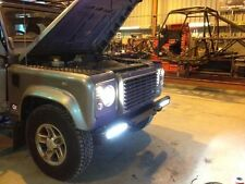landrover defender daytime running light kit defender LED bumper light kit drl
