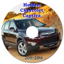 HOLDEN / CHEVROLET / GM CAPTIVA 2011 - 2016 WORKSHOP MANUAL ON CD OR DOWNLOAD