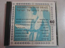 GOLDEN VOICES OF ISRAEL 9 TRK 1989 60 MINUTE MUSIC CD ICD 5004 RARE HTF OOP