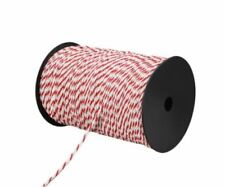 New 500m Polyrope Roll Electric Fence Energiser Polywire Tightly Wound Antirust