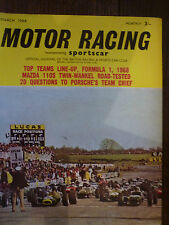 Motor Racing - BRSCC journal - magazine - March 1968