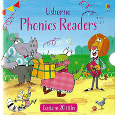Usborne Phonics Readers 20 books Gift Box Set Collection
